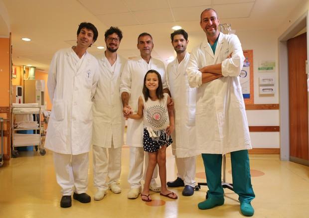 Bimba incurabile in Brasile, salvata grazie a intervento innovativo al Meyer