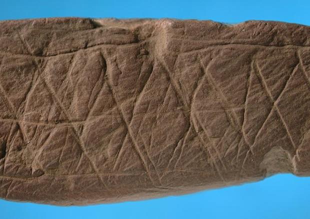 Disegno astratto, uomo era già in grado di realizzarli 73mila anni fa
