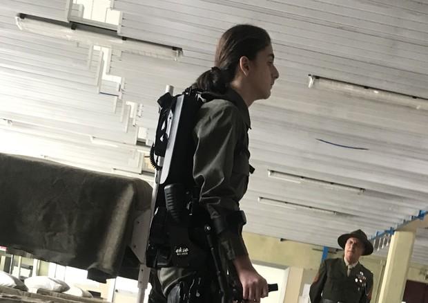 Ekso, l'esoscheletro riabilitativo robotizzato © Ansa
