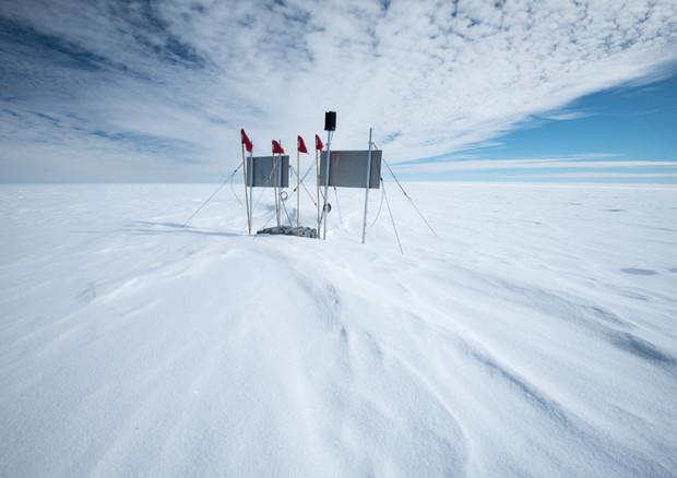 ll sito della perforazione del Lago Mercer, nascosto sotto i ghiacci antartici (fonte: Salsa) © Ansa