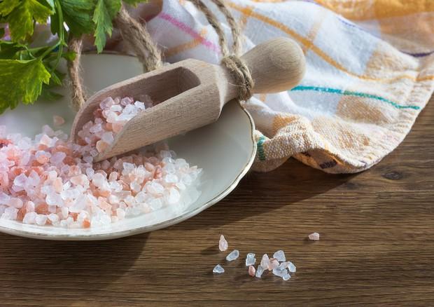 Crea il sale Himalaya è rosa perché impuro