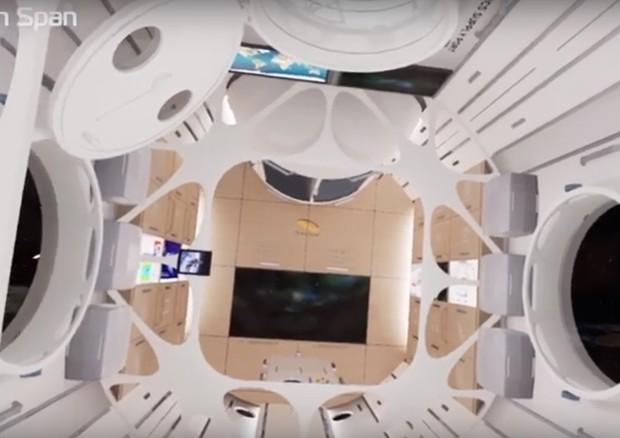 Hotel Di Lusso Interni : A bordo del primo hotel di lusso nello spazio foto e video