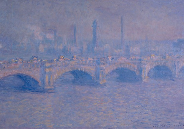 Waterloo Bridge di Monet © Ansa