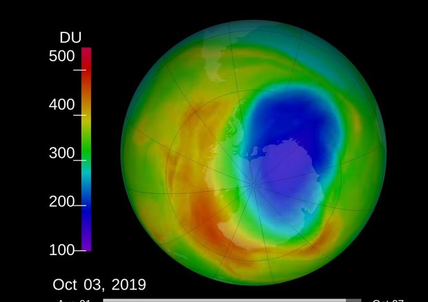 Il buco dell'ozono ai minimi storici dal 1982