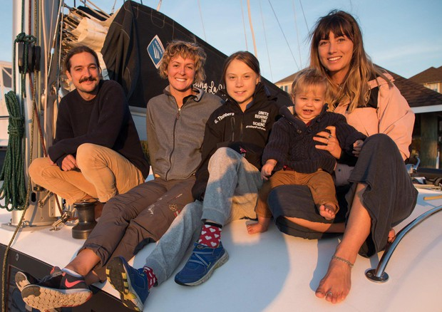 Clima:Greta in barca da Usa verso Spagna