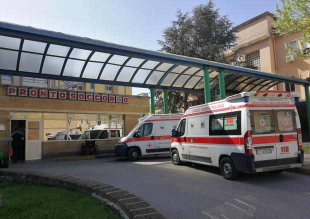L'ingresso di un pronto soccorso © Ansa