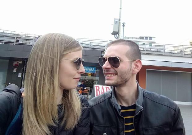 Alessia ed Emanuele © ANSA
