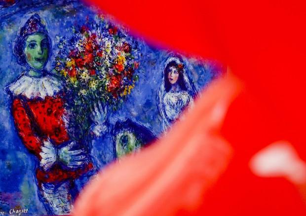 Un quadro di Chagall: Dream of love' © ANSA