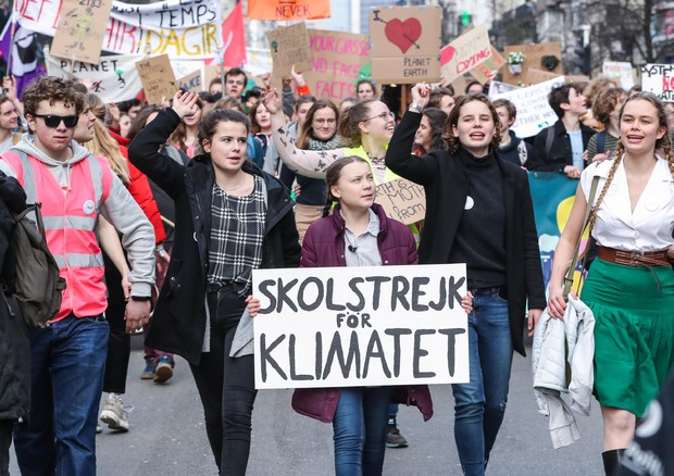 Il 15 marzo sciopero globale per il clima al grido di: