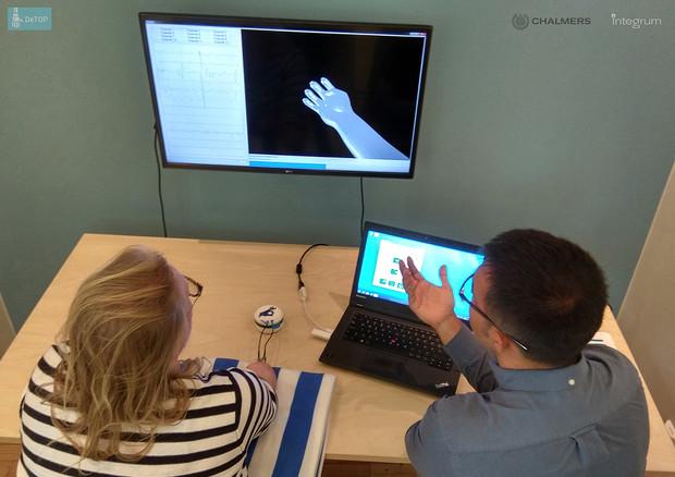 Primo impianto permanente al mondo di mano robotica