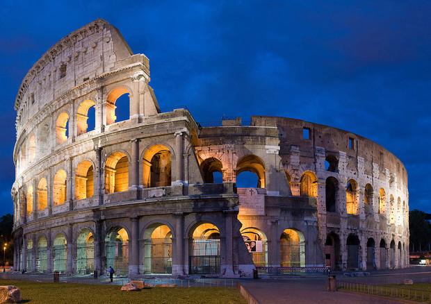 Trovato il terremoto che nel V secolo ha danneggiato il Colosseo (fonte: Diliff) © Ansa