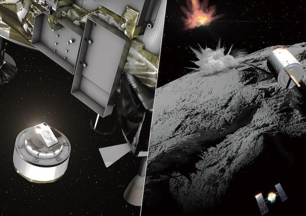 Hayabusa2 riesce a colpire l'asteroide Ryugu rimanendo intatto
