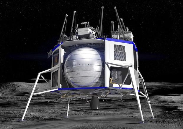 Bezos sogna e presenta il nuovo veicolo lunare