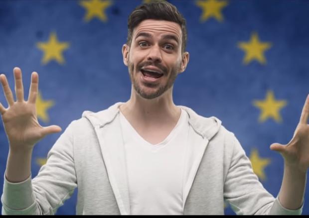 Elezioni europee: Lorenzo Baglioni canta