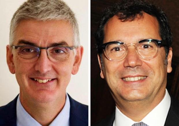 Il nuovo presidente ISS Silvio Brusaferro e il nuovo direttore Andrea Piccioli © ANSA