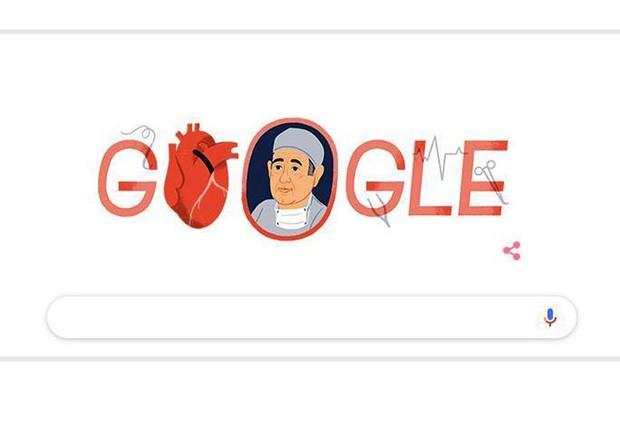 René Favaloro, Google dedica doodle al padre bypass aortico