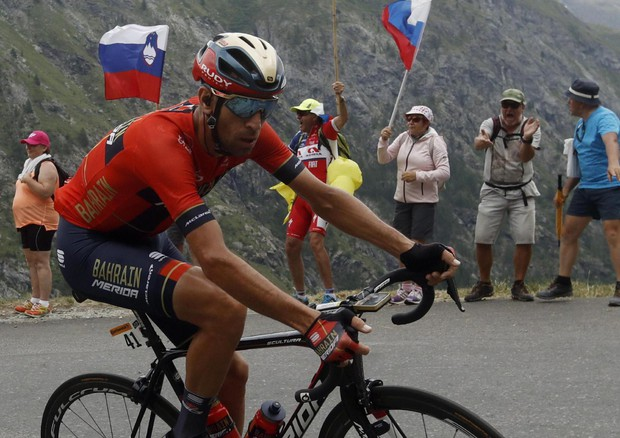 Nibali all'Aquila per terapia dolore