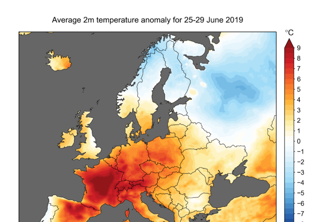 Temperature record mai registrate prima: l'ondata di caldo in Europa
