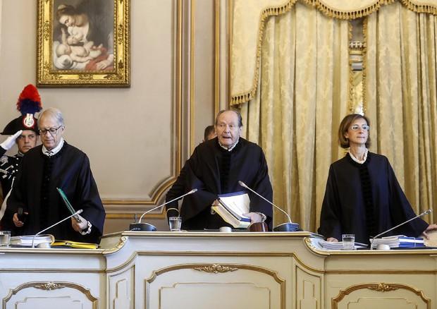 Il presidente della Corte Costituzionale Giorgio Lattanzi © ANSA