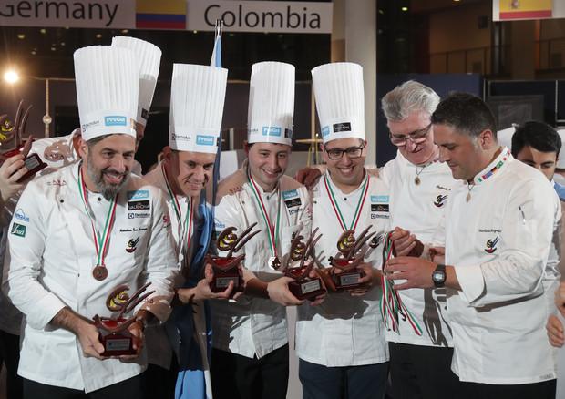 Coppa del Mondo di Gelateria, medaglia d'oro all'Italia Foto: Uff. St. Sigep © Ansa