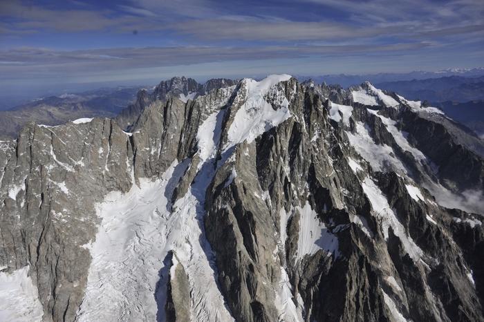 A Rischio Crollo Ghiacciaio Su Monte Bianco Clima Ansa It