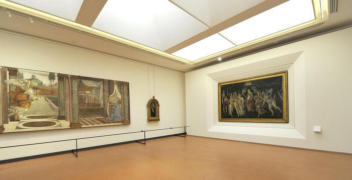 Uffizi: riaprono le sale Botticelli
