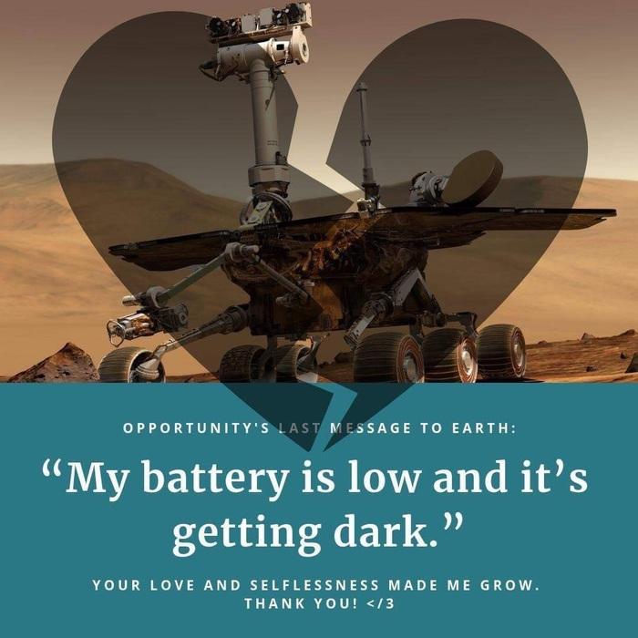 mars rover battery low getting dark - photo #20