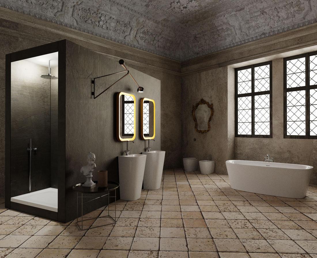 Sono Entrata Nel Bagno Degli Uomini : Zen o da favola come realizzare il bagno ispirandosi ai film