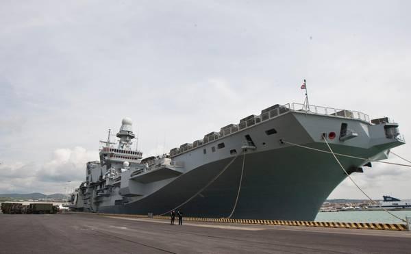 Libia la russa mobilitata anche portaerei cavour - Cavour portaerei ...