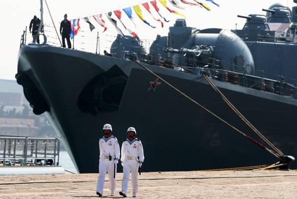 Cina prove decollo aerei da nuova portaerei uomini e - Nuova portaerei ...