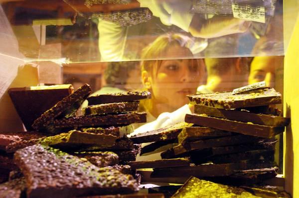 Da Perugia itinerario europeo del cioccolato