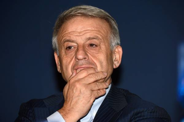 Il ministro dell'Ambiente, Corrado Clini