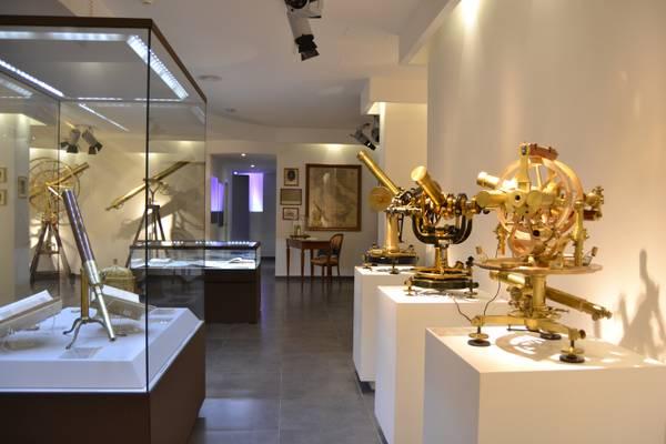 Una sala del Museo degli antichi strumenti dell'Osservatorio di Capodimonte a Napoli (fonte: Osservatorio di Capodimonte/INAF)