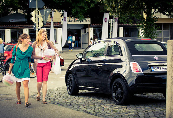 Auto: in Europa Fiat 500 batte in ottobre Volkswagen Up! (Credit Lorenz Holder)