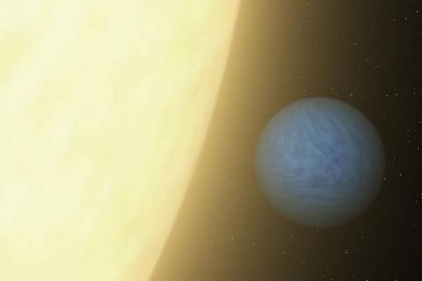 Rappresentazione grafica di una super-Terra (fonte: NASA/JPL-Caltech)