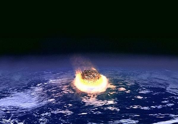 Rappresentazione artisitica dell'impatto di una cometa su un pianeta (fonte: NASA)