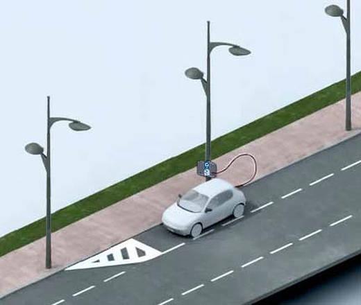 Auto/Moto: In Francia le auto elettriche si ricaricano dai lampioni  dove co...