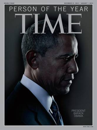 La copertina di Time con Barack Obama