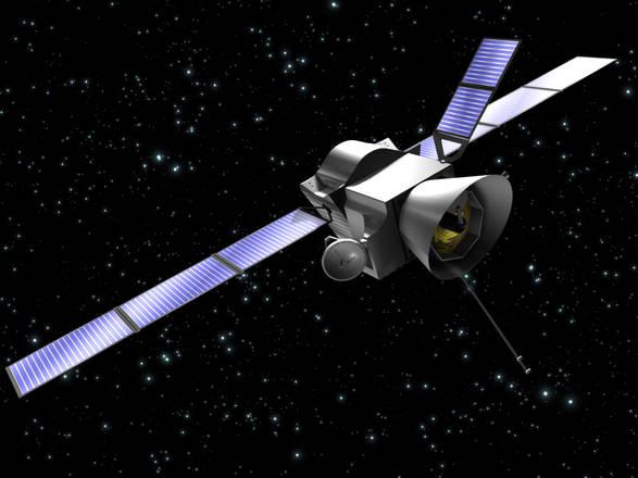 Rappresentazione grafica dl satellite Bepi Colombo (fonte: Thales Alenia Space)