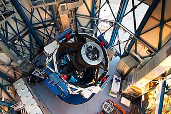 Il telescopio Vst (fonte: ESO/G. Lombardi)