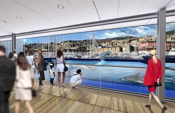 All 39 acquario genova nuova casa di vetro per delfini ambiente e pesca mare - Acquario per casa ...