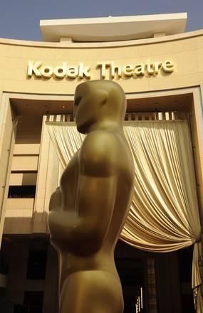 Una statua che rappresenta un Oscar