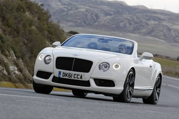 Bentley Continental GTC V8 Convertibile