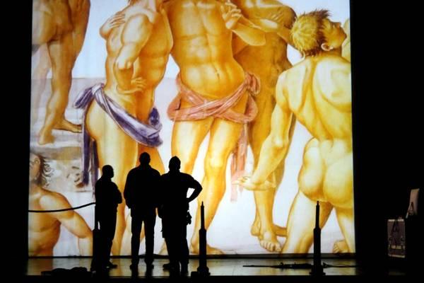 Luca Signorelli: Il Giudizio Universale, visual show di Micciche' al comunale  di Orvieto