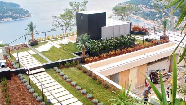 In citta 39 giardini e orti sui tetti natura ambiente - Giardino sul tetto ...