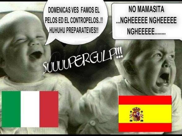 Italia Spagna,ironia,web,facebook,sarcasmo