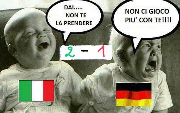vignetta,italia,germania,europei,bambini