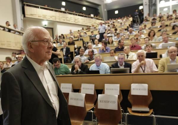 Il fisico Peter Higgs