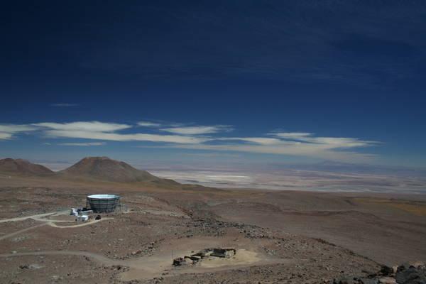 L'Atacama Cosmology Telescope (Act) (fonte: Elia Battistelli, Università di Roma Sapienza)