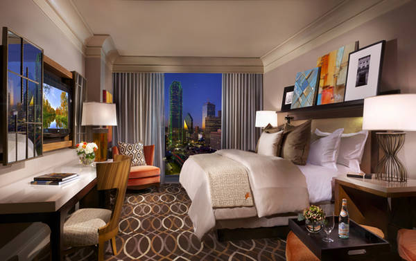 Arte in vendita all'Omni Dallas Hotel (Foto: Omni Hotels & Resorts)